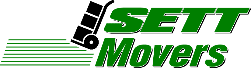 official logo for SETT Movers moving company in Bayville NJ